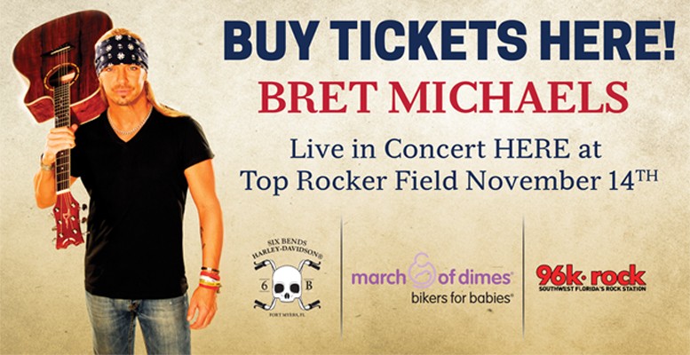 Bret Michaels Banner